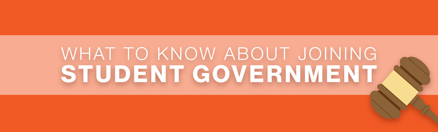 What to Know About Joining Student Government banner