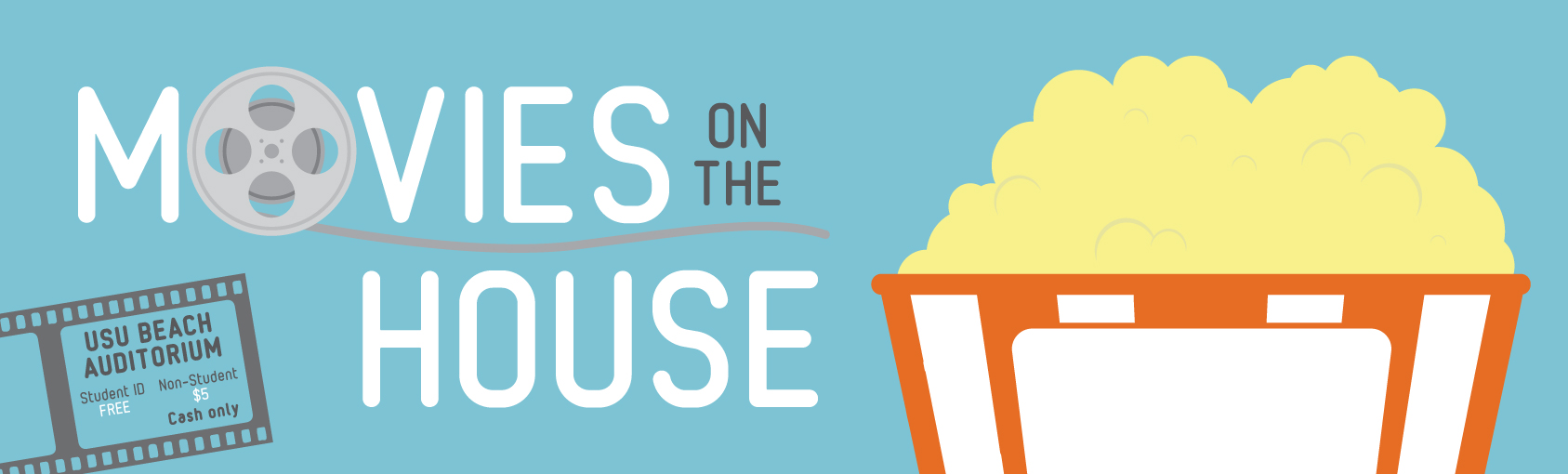 Movies on the House banner