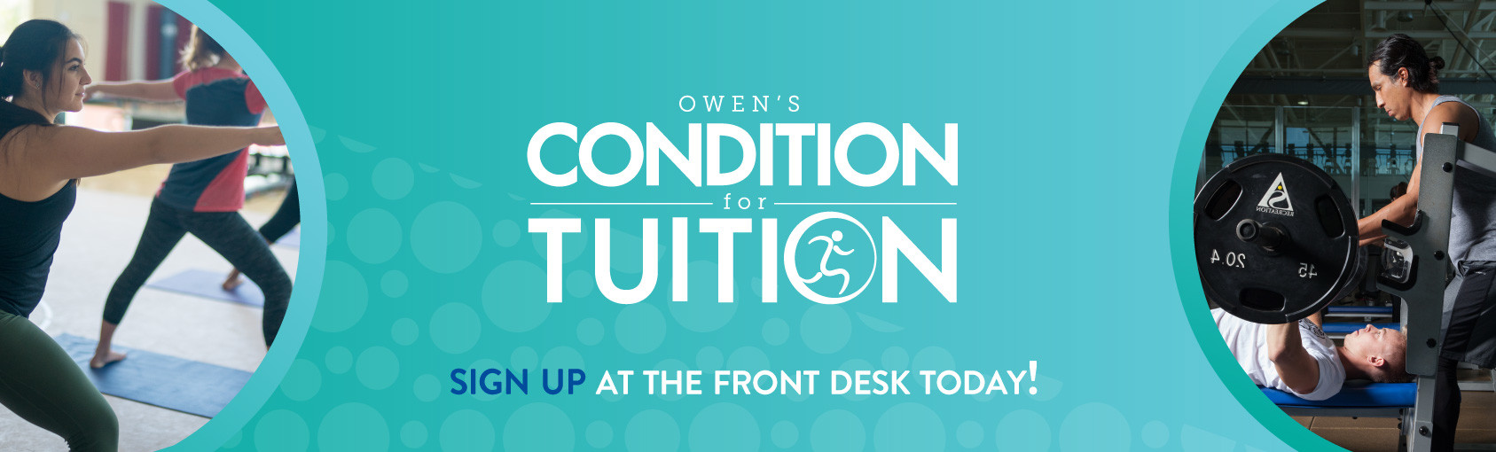 Sign-up for the Owen's Challenge Now Bannner