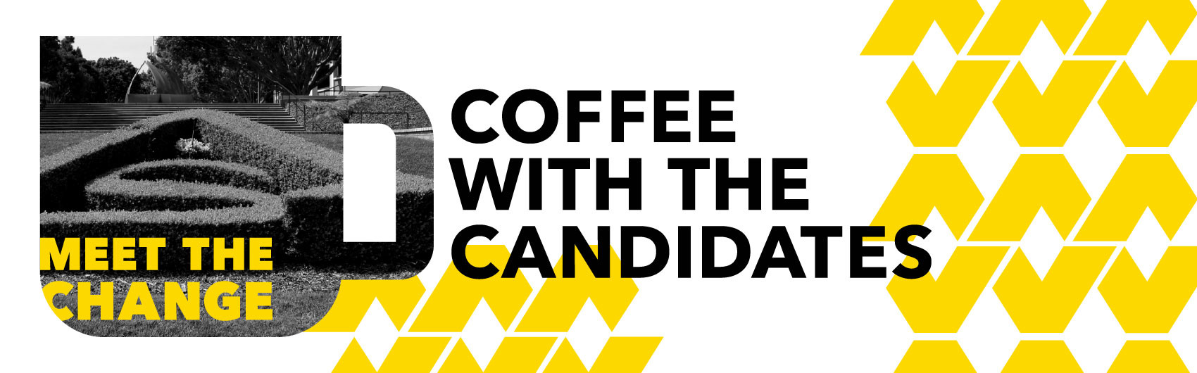 Coffee With The Candidates Banner