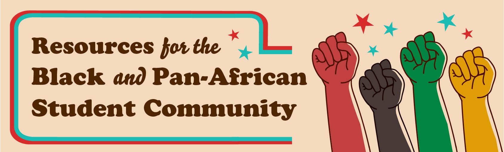 Resources for the Black and Pan-African Student Community