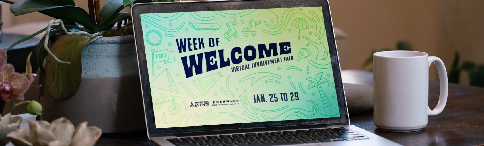 Graphic: Spring Week of Welcome