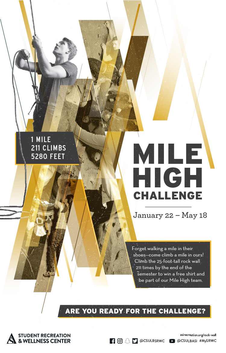 mile high challenge poster