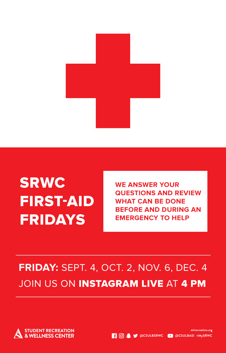 first aid fridays poster