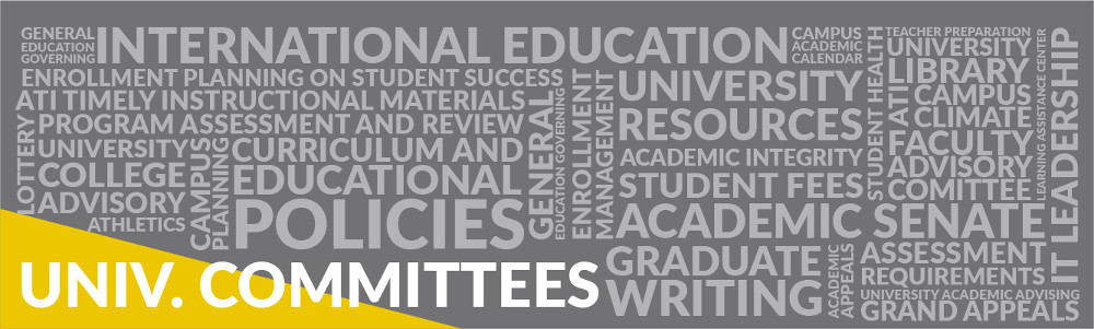 University Committees generic banner
