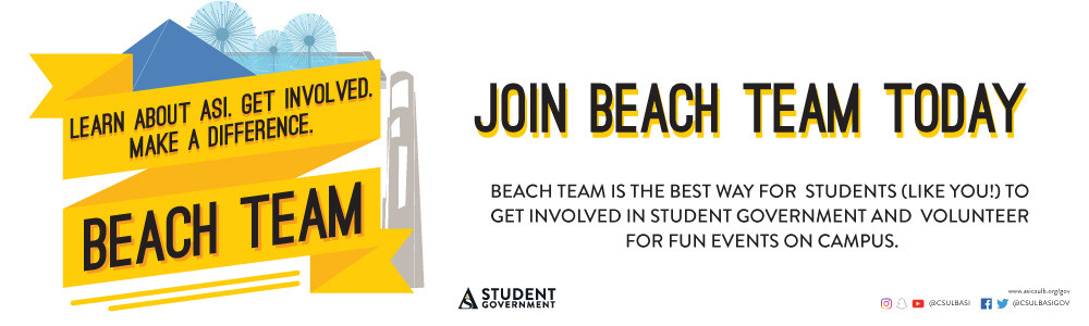 Join beach team today banner